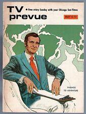 1973 CHICAGO TV PREVUE GUIDE~ELVIS PRESLEY~JIM THOMAS~ALICE NECKER