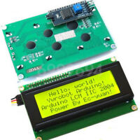 New Yellow IIC I2C TWI 2004 20x4 Serial LCD Module Display for Arduino