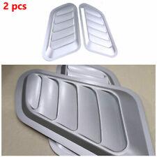 Car Decorative Air Flow Intake Scoop Turbo Bonnet Vent Cover Hood Fender Durable