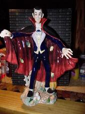 Fitz Floyd Halloween Dracula Figurine New In Box 16 Inches