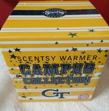 Scentsy Full Size Warmer Campus Collection Georgia Tech Nib Rare Htf