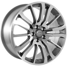 22 Inch Land Rover Wheels Gunmetal Replica Rims (GMT-22-LDR-071)