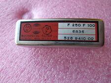Collins mécanique Filtre F 250 F 100
