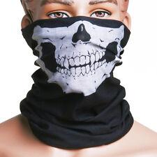 Braga calavera protector de cuello pañuelo bufanda, airsoft, moto Nuevo Skull