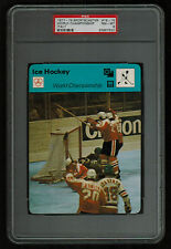 PSA 8 WORLD CHAMPIONSHIP 1978 Sportscaster Hockey Card #19-15