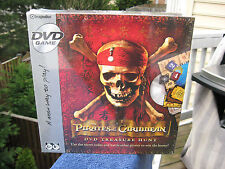 PIRATES of the CARIBBEAN DVD Treasure Hunt Game~New & Sealed In The Box!