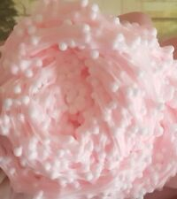 Gorgeous Pink Fluffy Floam Crunchy Slime Free Activator And Foamballs