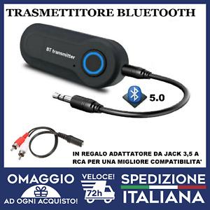 Trasmettitore Bluetooth audio per TV e hifi per cuffie auricolari smartphone🇮🇹