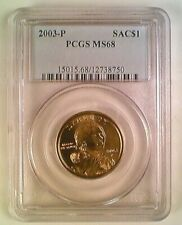 2003-P Sacajawea Native American Dollar PCGS MS68