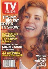 TV GUIDE MAGAZINE 2003 FEB. 22-28 BAYWATCH (FAIR/GOOD COND) DETROIT ED.