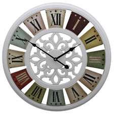 wall clocks with roman numerals for sale ebay