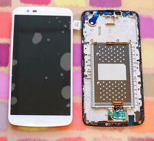LG K10 LTE K430DS / K410 / K420n LCD écran +Touch avec cadre couleur blanc