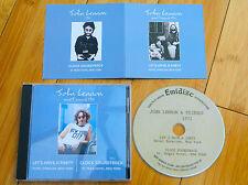 JOHN LENNON BEATLES NEW YORK 1971 LET'S HAVE A PARTY / CLOCK SOUNDTRACK CD MINT