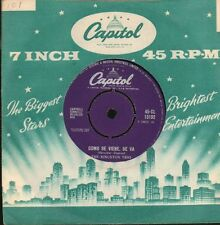 "The Kingston Trio(7"" Vinyl)Como Se Viene Se Va/ En El Agua-Capitol-CL 1-VG/VG"