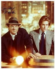 Karl Malden Hand Signed 8x10 Color Photo+Coa Streets Of San Francisco