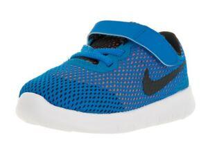 Nike Free RN (TDV) Photo Blue Black Total Orange kids toddlers 833992-400