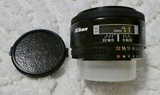 Nikon Nikkor AF 50mm 1.8 lens, F mount