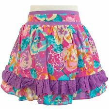 Gorgeous NEW Girls Size 1 Stix & Stones Floral Ruffle Skirt