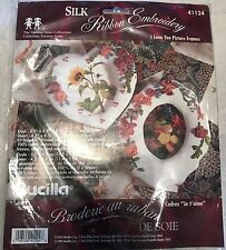 Bucilla Silk Ribbon Embroidery Picture Frames Kit I Love You - Vanessa Anne -New