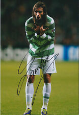 Georgios SAMARAS SIGNED Autograph Photo AFTAL COA CELTIC SPL Greek Football