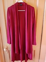 82 Days Open Front Fly Away Cardigan Sweater Long Sleeve Loose Drape Size Large