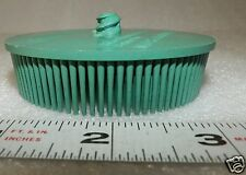 "one ea 3""  Roloc 3M Bristle Disc green  radial 50 grit 15,000 rpm new"