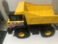 Tonka Truck 354 Yellow Construction Large Metal Classic Mighty Dump Truck 2012