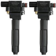 Set of 2 Delphi Direct Ignition Coils for Mercedes W202 R170 C230 SLK230 2.3L L4