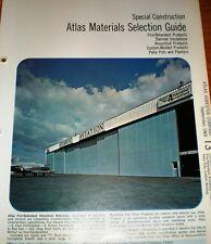 1969 ATLAS Sprayed Limpet ASBESTOS Insulation Cement