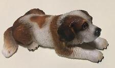 Retired Schleich St.Bernard Dog #16380 Laying Down 2008