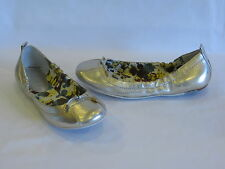 Sperry Top-Sider Metallic Gold Leather Elastic Flats Slip-ons -  7M – GR8!