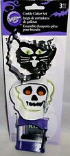 Halloween Cookie Cutters  Black Cat,Skelton Head and R.I.P. Headstone