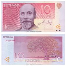 Estonia 10 Krooni 2007 P-86b Banknotes UNC