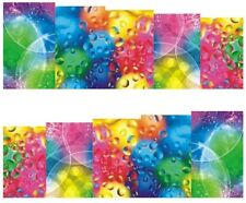 Nail Art Stickers Water Decals Transfer Raindrops Multicoloured WIndow (DB171)
