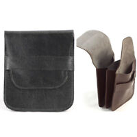 Mens Soft Leather Coin Holder Wallet Simple Fold Away Design Fits Pockets