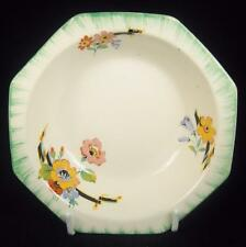 Royal Staffordshire A.J. Wilkinson Flowers/Green Border Small Bowl (4 Available)
