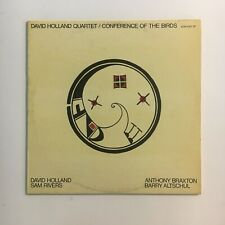 DAVID HOLLAND QUARTET. Anthony Braxton  FREE JAZZ LP  record