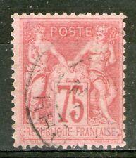 FRANCE:  n°81 oblitéré  (cote 150€)