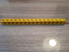 Technic Plate 2 x 4 avec 3 trous-x 2 gris//jaune//rouge Lego partie 3709b