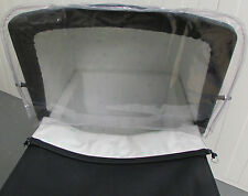 RAIN SHIELD to fit Silver Cross DOLLS PRAM Coach Built Pram Spares Wind Shield