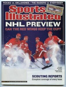 SI: Sports Illustrated October 14, 2002 Can the Red Wings Keep the Cup? NHL, VG