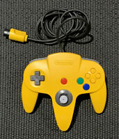 OEM Yellow Nintendo N64 Controller Tested Authentic Original