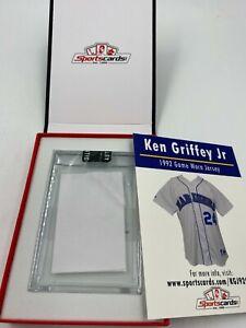 Mariners Ken Griffey Jr. HOF 1992 Game Worn Jersey Patch Relic Sportscards.com