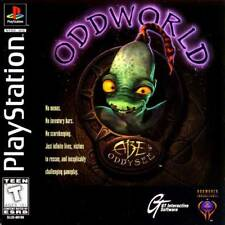 Oddworld Abe's Oddysee - PS1 PS2 Playstation Game
