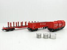 (AM1439) Märklin 46220 AC H0 Güterwagen-Set 4-tlg. DB Cargo OVP