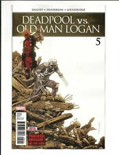 DEADPOOL vs. OLD MAN LOGAN # 5 (APR 2018), NM NEW