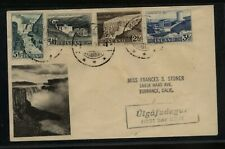 Iceland  293-96  on  cachet  cover        MS0414