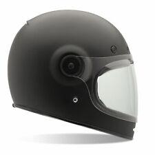 BELL Bullitt Solid Matt Black Motorcycle Motorbike Helmet M 57 - 58