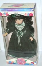 Victorian Rose Collection Genuine Porcelain Doll by Melissa Jane # 16198 Special