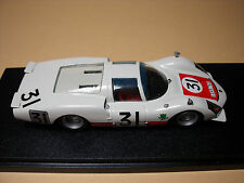 PORSCHE  906  LH  LE MANS  1966   VROOM  UNPAINTED  KIT 1/43  CARRERA  NO  SPARK